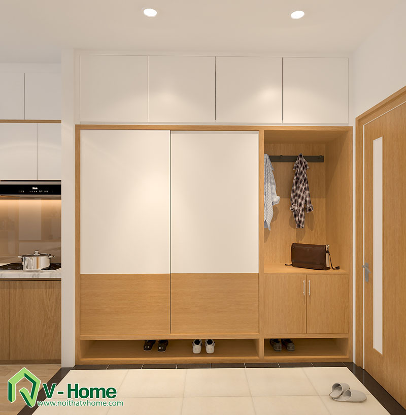 noi-that-thong-minh-officetel-3 Thiết kế nội thất căn hộ Officetel diện tích 32m2 - TP. Bắc Ninh