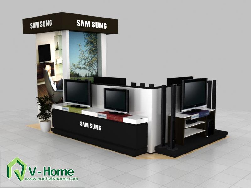 thiet-ke-khu-trung-bay-sam-sumg-11 Thiết kế khu trưng bày sản phẩm điện tử SamSung