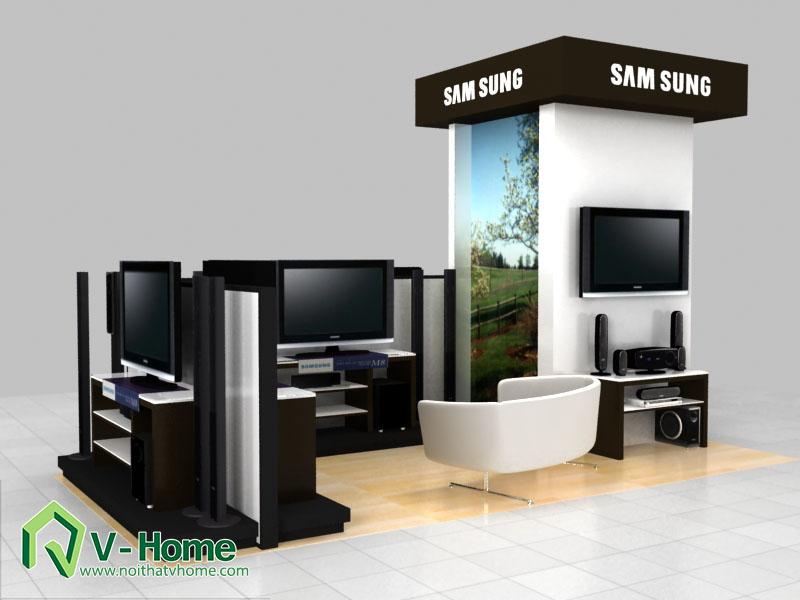 thiet-ke-khu-trung-bay-sam-sumg-12 Thiết kế khu trưng bày sản phẩm điện tử SamSung