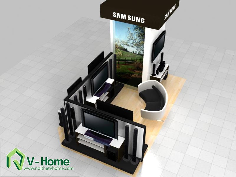 thiet-ke-khu-trung-bay-sam-sumg-14 Thiết kế khu trưng bày sản phẩm điện tử SamSung