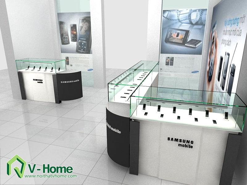 thiet-ke-khu-trung-bay-sam-sumg-22 Thiết kế khu trưng bày sản phẩm điện tử SamSung