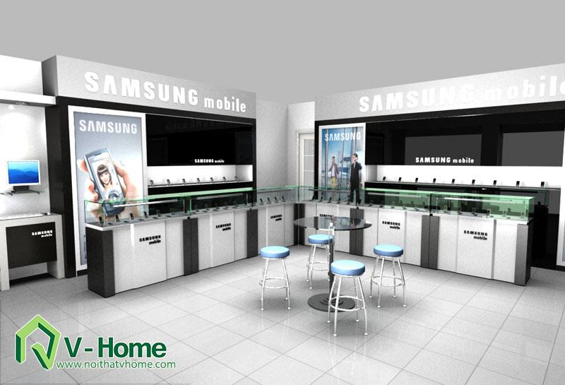 thiet-ke-khu-trung-bay-sam-sumg-23 Thiết kế khu trưng bày sản phẩm điện tử SamSung