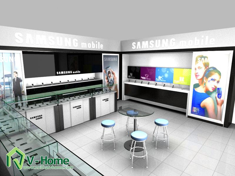 thiet-ke-khu-trung-bay-sam-sumg-24 Thiết kế khu trưng bày sản phẩm điện tử SamSung