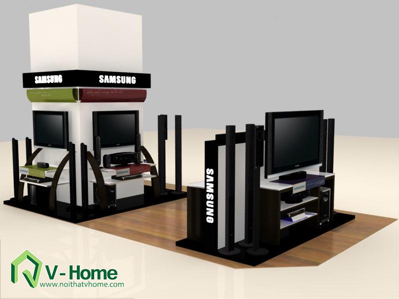 thiet-ke-khu-trung-bay-sam-sumg-4 Thiết kế khu trưng bày sản phẩm điện tử SamSung