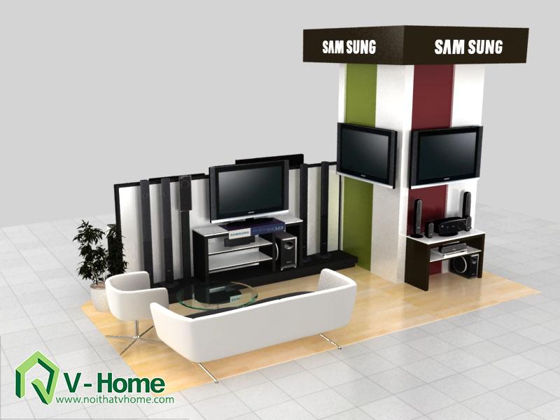 thiet-ke-khu-trung-bay-sam-sumg-5 Thiết kế khu trưng bày sản phẩm điện tử SamSung