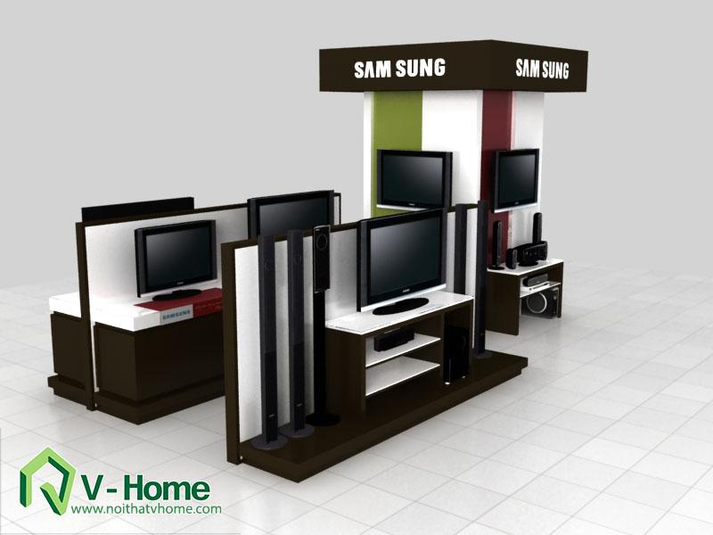thiet-ke-khu-trung-bay-sam-sumg-6 Thiết kế khu trưng bày sản phẩm điện tử SamSung