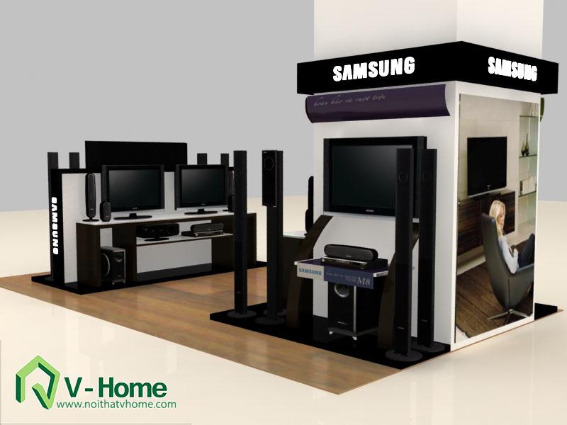 thiet-ke-khu-trung-bay-sam-sumg-7 Thiết kế khu trưng bày sản phẩm điện tử SamSung