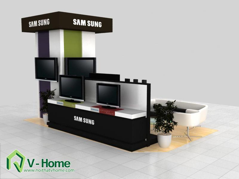 thiet-ke-khu-trung-bay-sam-sumg-8 Thiết kế khu trưng bày sản phẩm điện tử SamSung