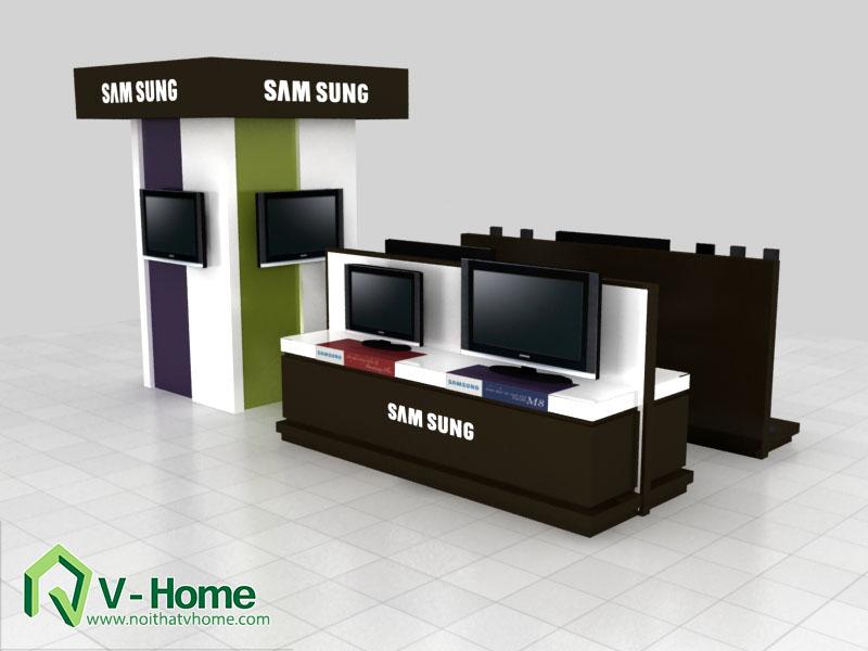 thiet-ke-khu-trung-bay-sam-sumg-9 Thiết kế khu trưng bày sản phẩm điện tử SamSung