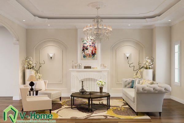 Thiết kế nội thất biệt thự Tô Ngọc Vân
