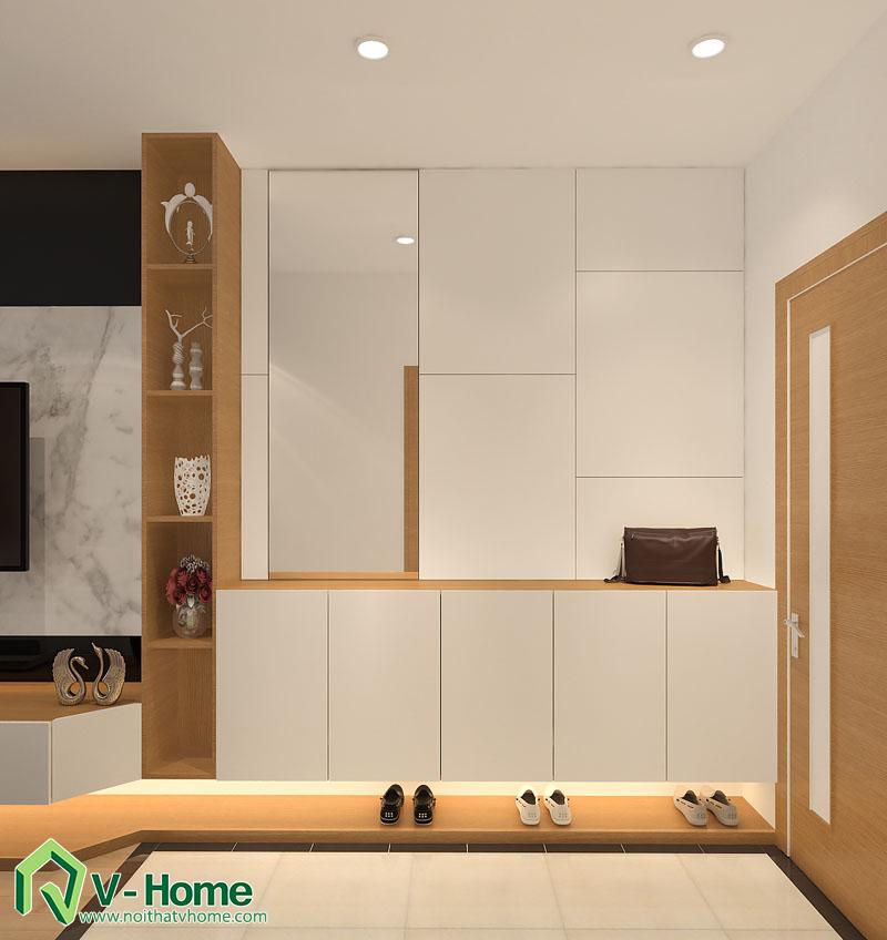 thiet-ke-noi-that-officetel-9 Thiết kế thông minh cho căn hộ nhỏ 30m2