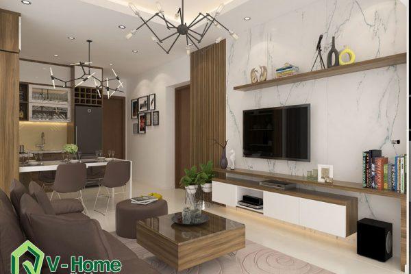 Thiết kế nội thất tập thể Nguyễn Công Trứ