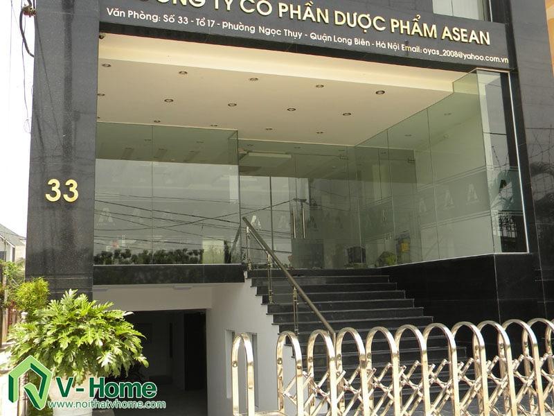 thiet-ke-thi-cong-nha-lo-ket-hop-van-phong-2 Thi công xây dựng, nội thất nhà lô kết hợp văn phòng Long Biên, Hà Nội - C. Oanh