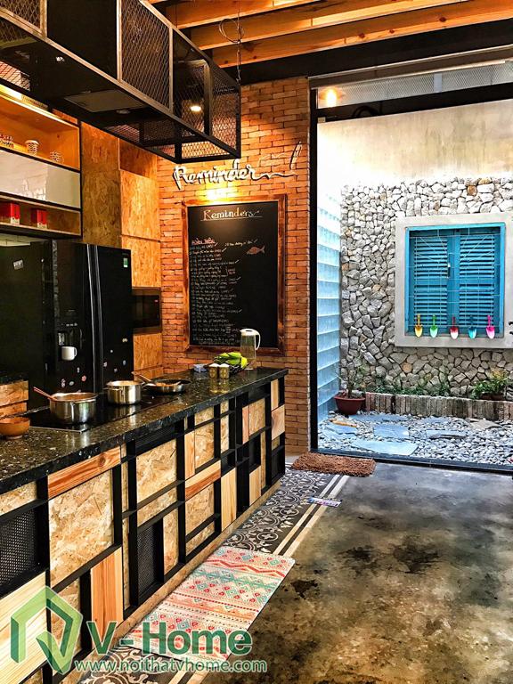 b10 Thi công văn phòng kết hợp nhà ở tại Nhà Bè - TP. Hồ Chí Minh