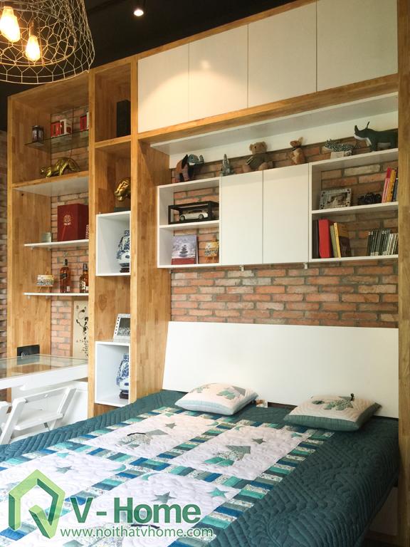b17 Thi công văn phòng kết hợp nhà ở tại Nhà Bè - TP. Hồ Chí Minh