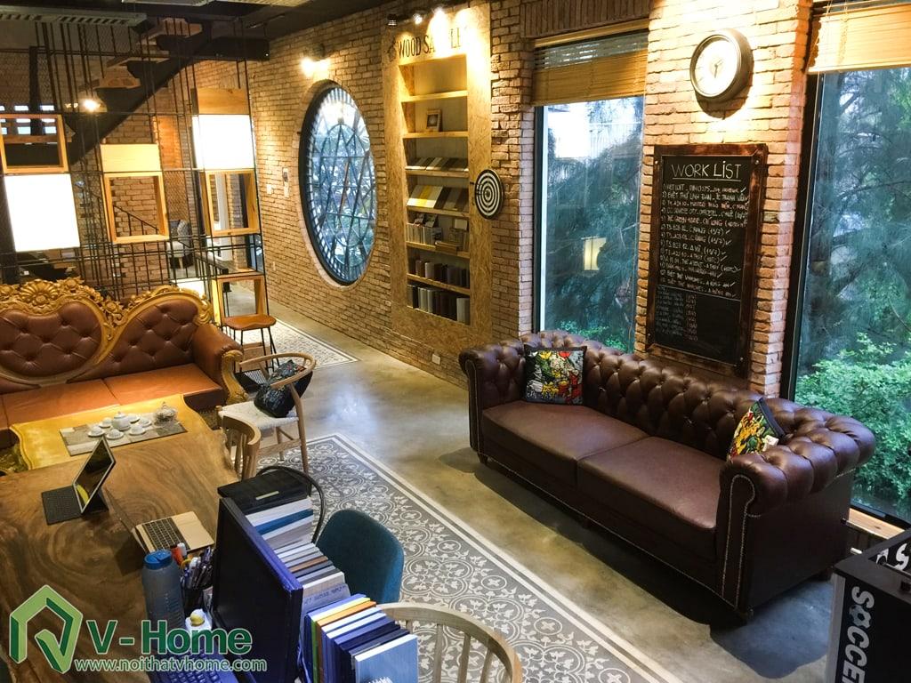 b3 Thi công văn phòng kết hợp nhà ở tại Nhà Bè - TP. Hồ Chí Minh