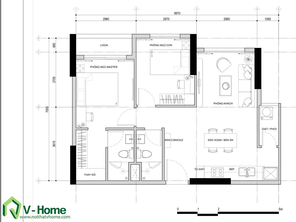 thiet-ke-noi-that-masteri-thao-dien-14 Thiết kế nội thất chung cư Masteri Thảo Điền - C. Trang