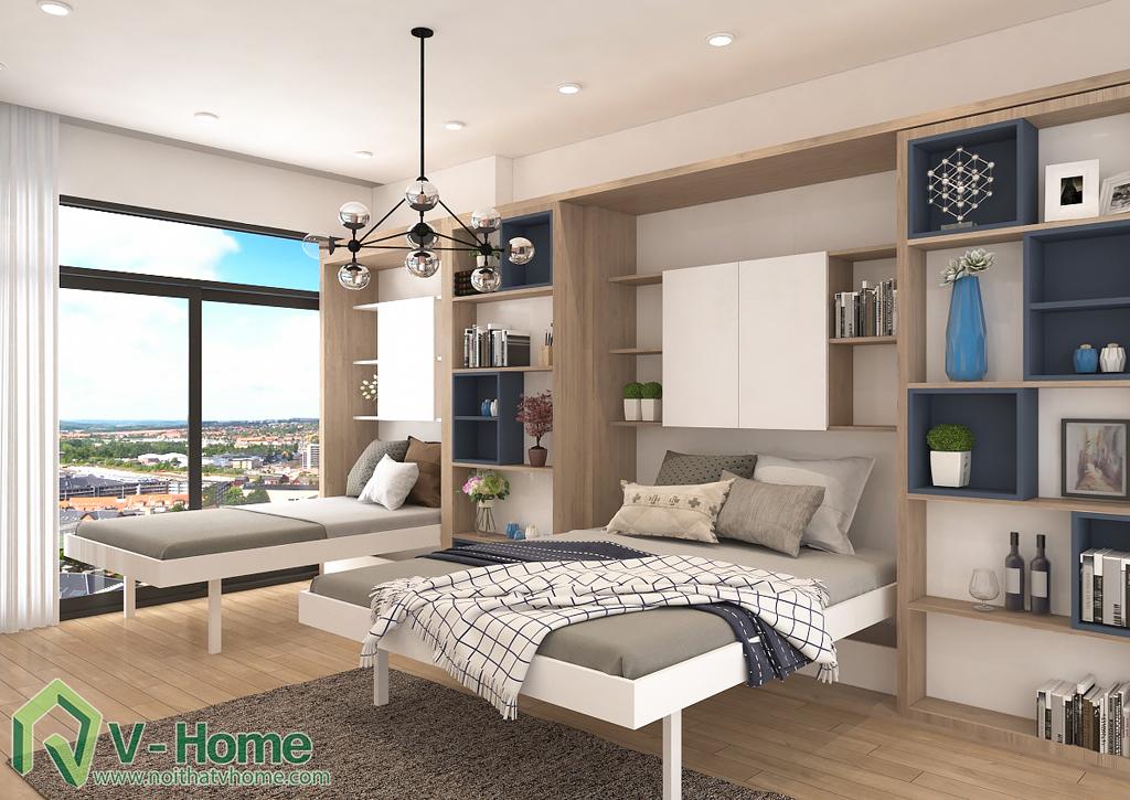 thiet-ke-noi-that-officetel-sunrise-city-q7-1 Thiết kế nội thất chung cư Sunrise City Q.7 - C. Hồng