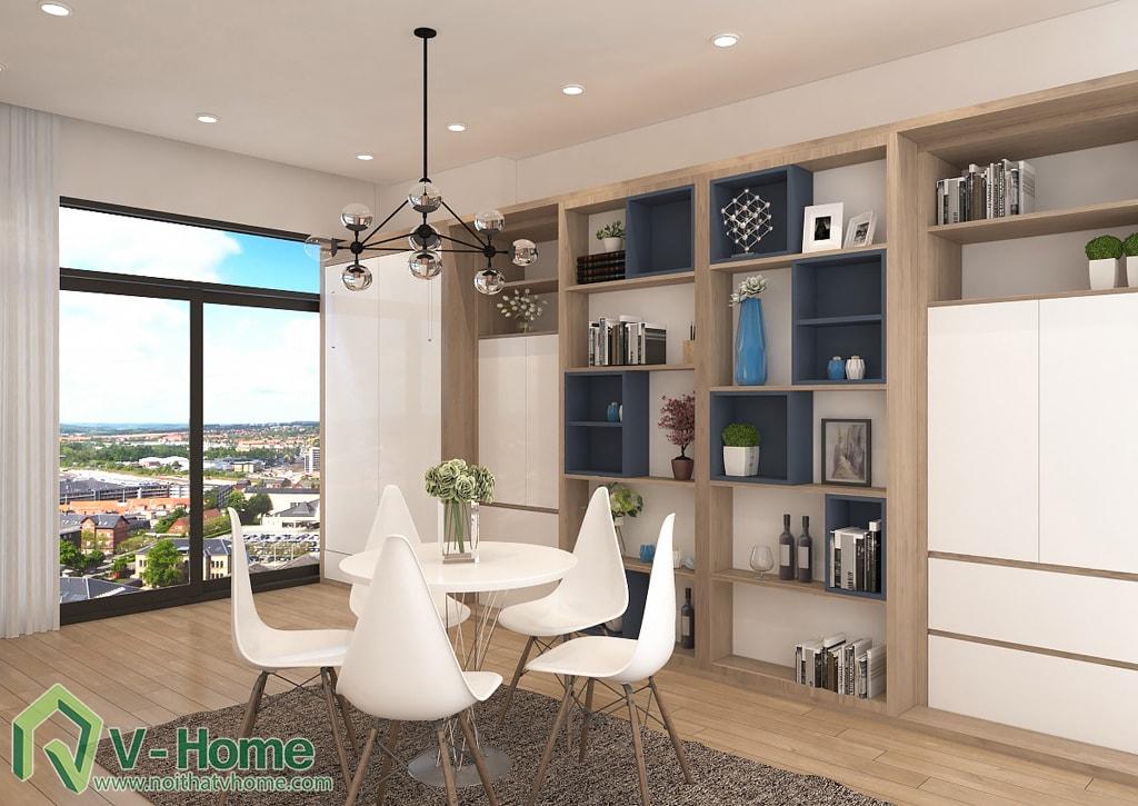 thiet-ke-noi-that-officetel-sunrise-city-q7-3 Thiết kế nội thất chung cư Sunrise City Q.7 - C. Hồng