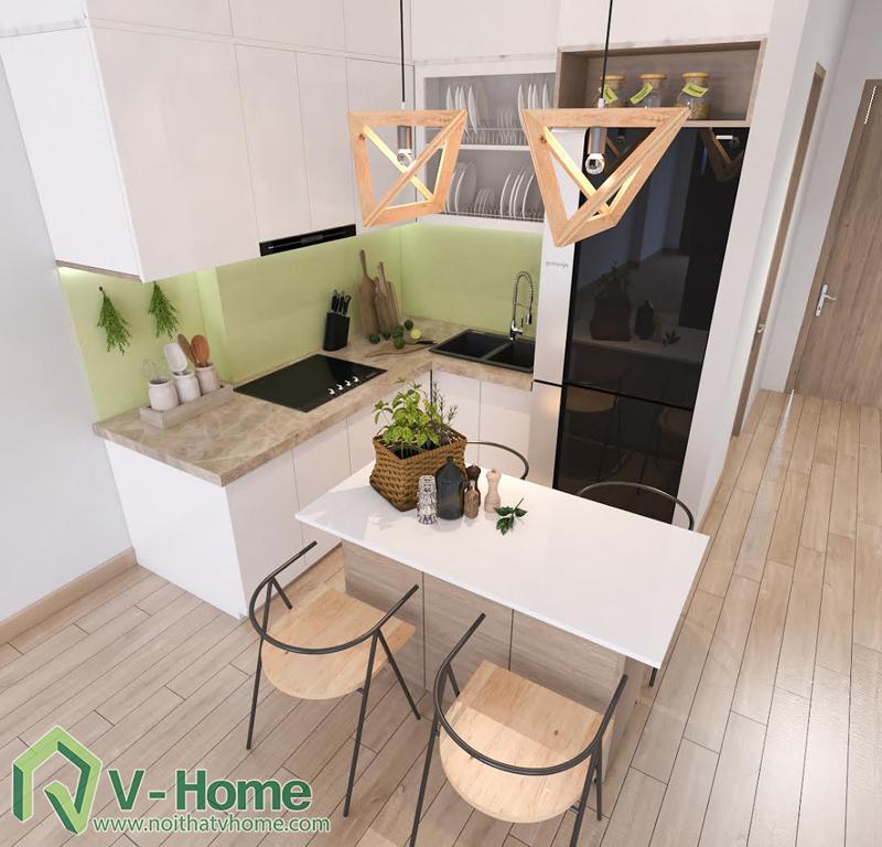 thiet-ke-noi-that-officetel-sunrise-city-q7-6 Thiết kế nội thất chung cư Sunrise City Q.7 - C. Hồng