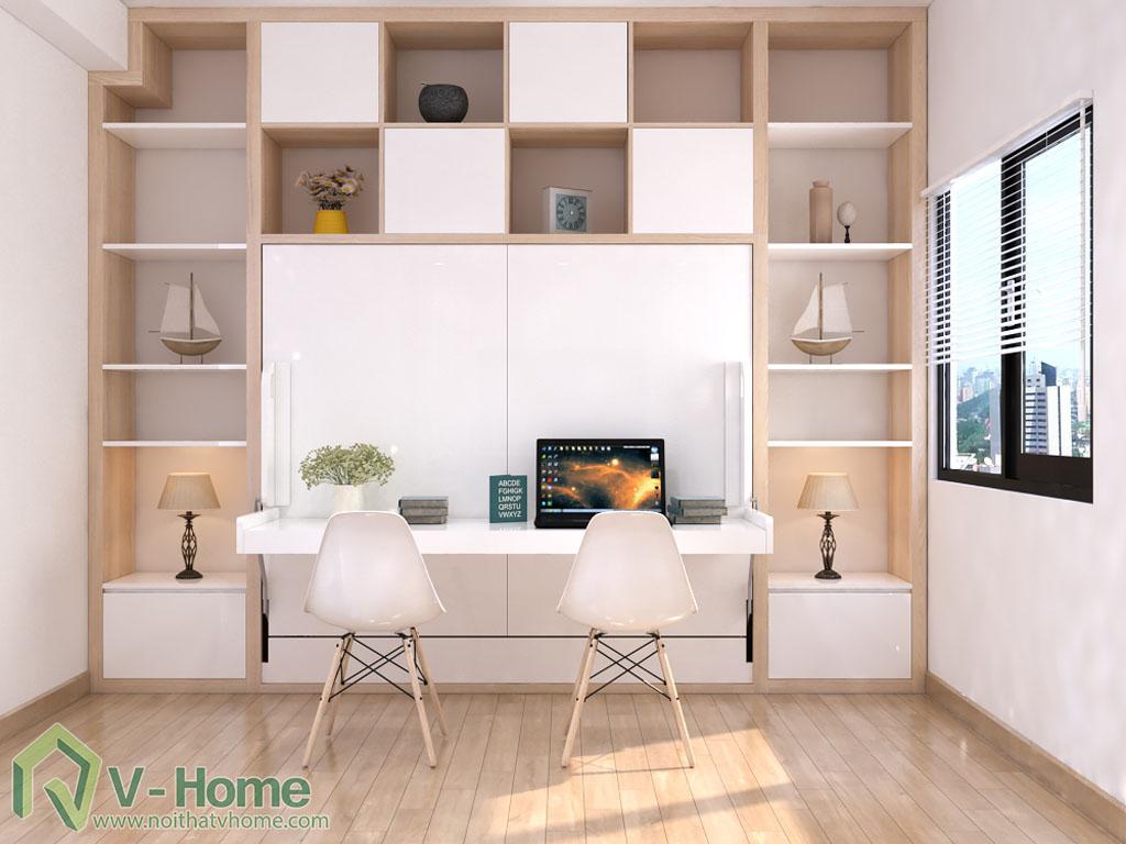 giuong-mo-ngang-ban-lam-viec-3 Giường thông minh V-Home - 1,6mx2m - GB2N1620