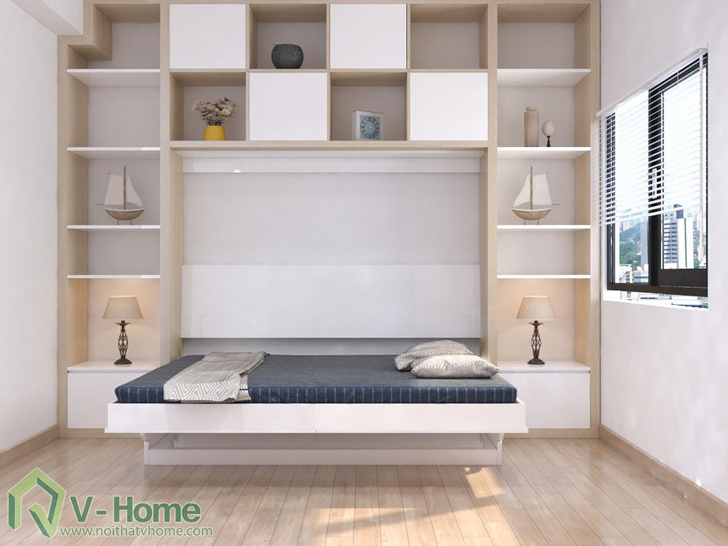 giuong-mo-ngang-ban-lam-viec-4 Giường thông minh V-Home - 1,6mx2m - GB2N1620