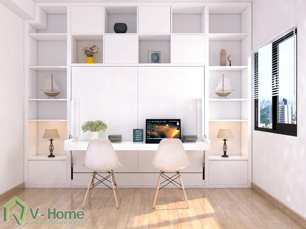 giuong-mo-ngang-ban-lam-viec-5 Giường thông minh V-Home - 1,6mx2m - GB2N1620