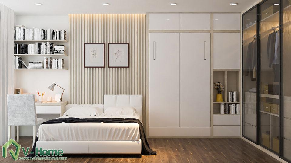 thiet-ke-noi-that-biet-thu-vinhomes-10-2 Thiết kế kiến trúc, nội thất Biệt thự liền kề Vinhomes Gardenia Hàm Nghi - C. Thủy