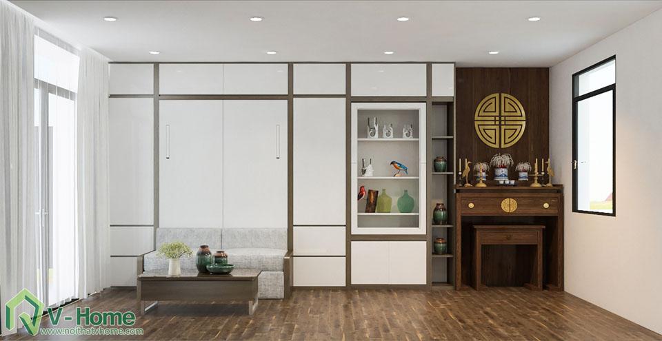 thiet-ke-noi-that-biet-thu-vinhomes-17-2 Thiết kế kiến trúc, nội thất Biệt thự liền kề Vinhomes Gardenia Hàm Nghi - C. Thủy