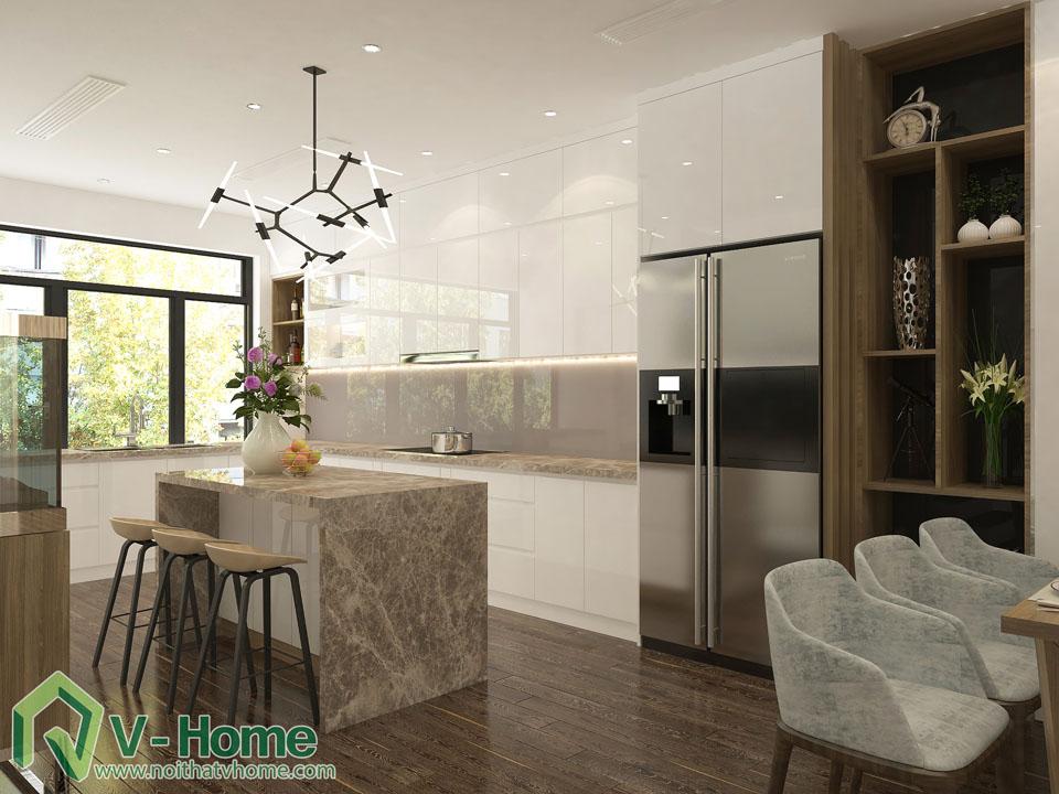 thiet-ke-noi-that-biet-thu-vinhomes-4-2 Thiết kế kiến trúc, nội thất Biệt thự liền kề Vinhomes Gardenia Hàm Nghi - C. Thủy