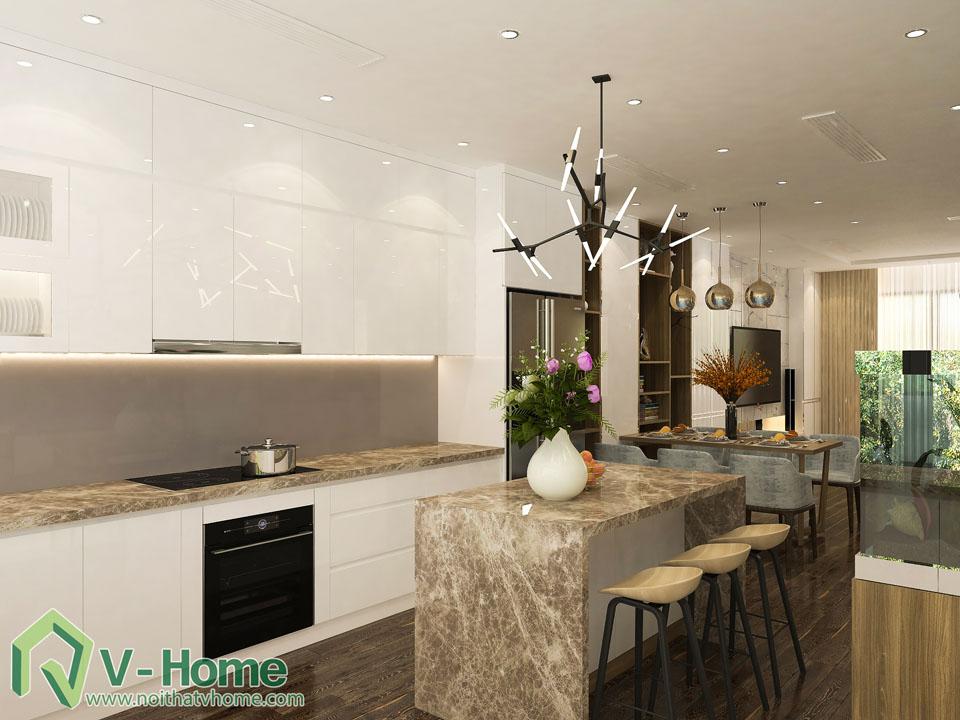thiet-ke-noi-that-biet-thu-vinhomes-5-2 Thiết kế kiến trúc, nội thất Biệt thự liền kề Vinhomes Gardenia Hàm Nghi - C. Thủy