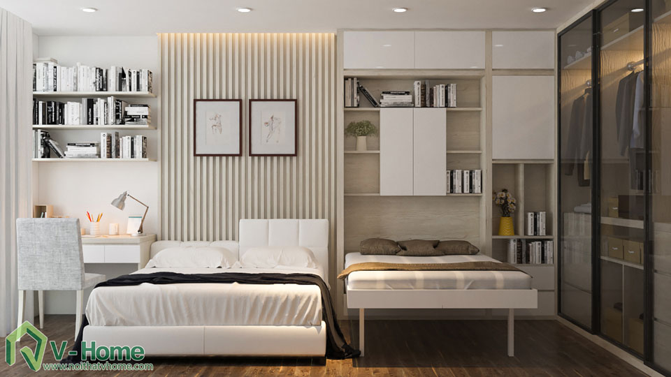 thiet-ke-noi-that-biet-thu-vinhomes-9-2 Thiết kế kiến trúc, nội thất Biệt thự liền kề Vinhomes Gardenia Hàm Nghi - C. Thủy