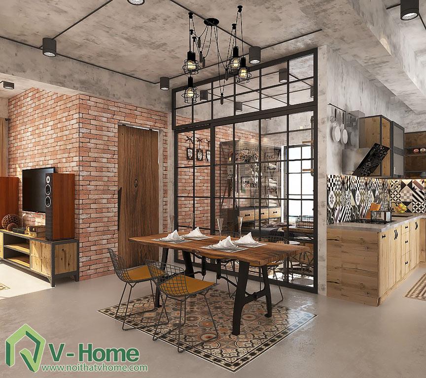 thiet-ke-noi-that-chung-cu-scenic-valley-4 Thiết kế nội thất chung cư Scenic Valley - Phong cách Industrial