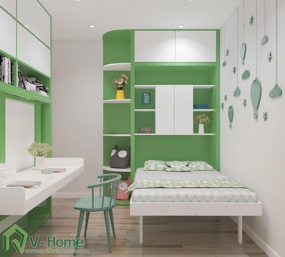 thiet-ke-phong-ngu-tre-em-2 Thiết kế nội thất phòng ngủ thông minh - Royal City