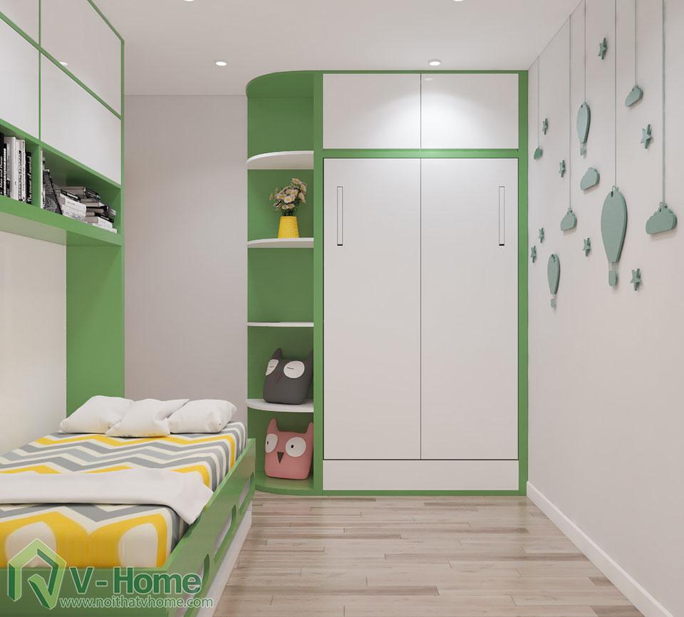 thiet-ke-phong-ngu-tre-em-3 Thiết kế nội thất phòng ngủ thông minh - Royal City