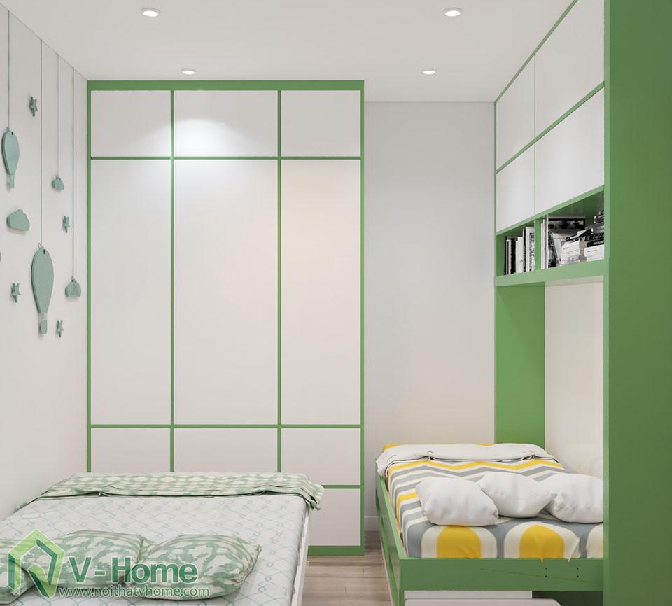 thiet-ke-phong-ngu-tre-em-5 Thiết kế nội thất phòng ngủ thông minh - Royal City