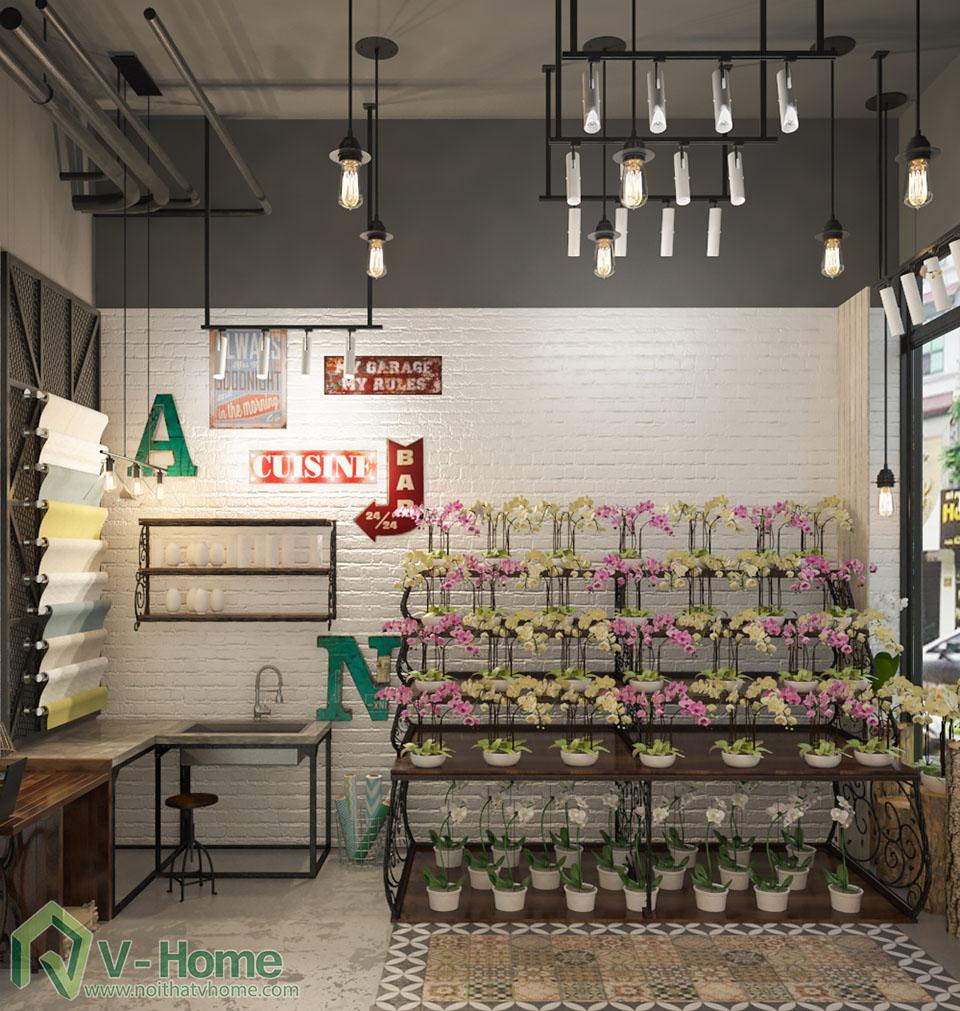 thiet-ke-shop-hoa-1 Thiết kế cửa hàng shop hoa địa lan