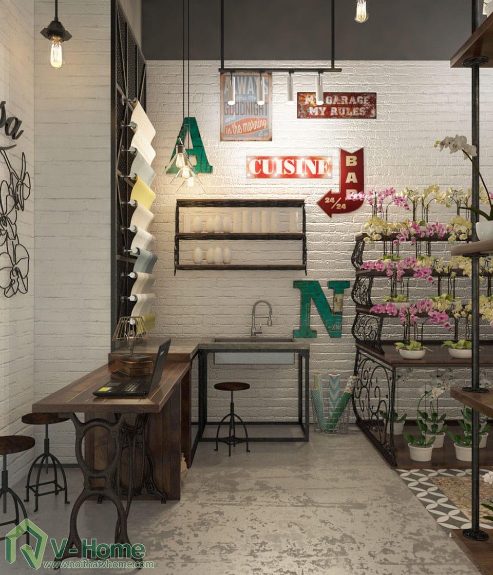 thiet-ke-shop-hoa-2 Thiết kế cửa hàng shop hoa địa lan