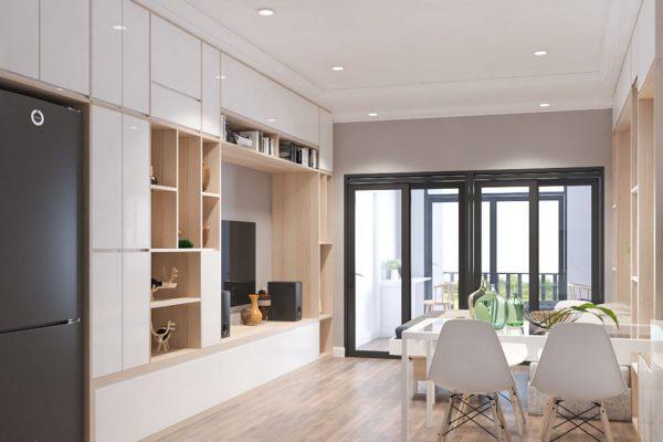 Thiết kế nội thất căn hộ R6 Royal City - A. Hùng