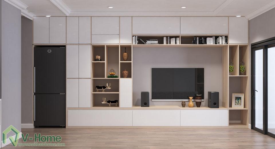 thiet-ke-officetel-r6-royal-city-4 Thiết kế nội thất căn hộ R6 Royal City - A. Hùng