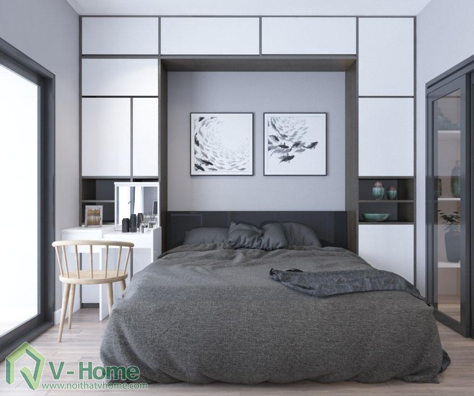 thiet-ke-officetel-r6-royal-city-6 Thiết kế nội thất căn hộ R6 Royal City - A. Hùng