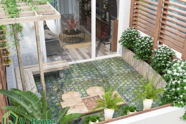Thiết kế nội thất nhà phố 59 Võ Văn Tần