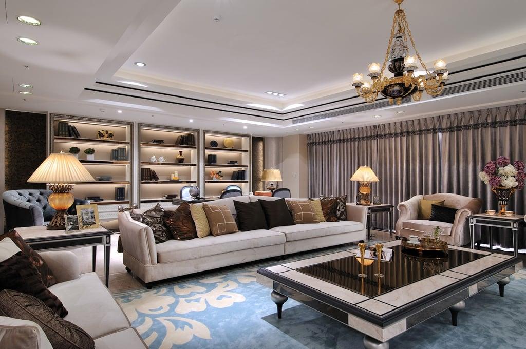 1-1 Thiết kế nội thất biệt thự đương đại