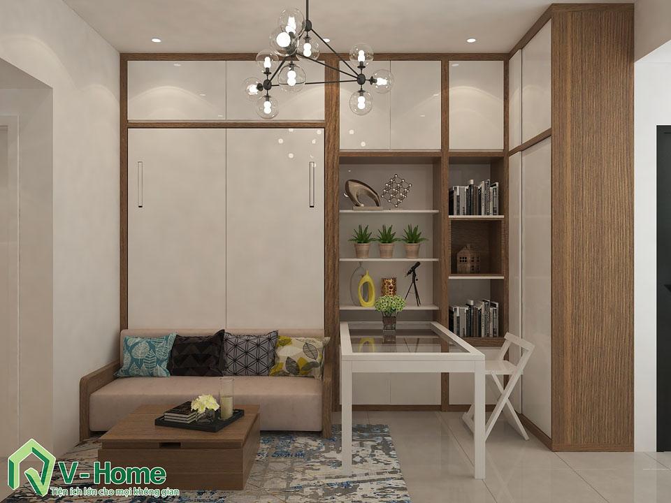 thiet-ke-noi-that-chung-cu-river-gate-b1019-5 Thiết kế nội thất căn hộ Officetel River Gate - Ms Kim