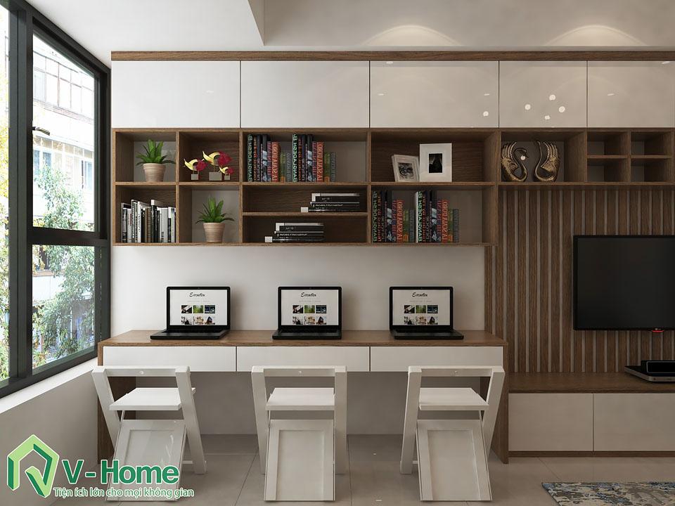 thiet-ke-noi-that-chung-cu-river-gate-b1019-6 Thiết kế nội thất căn hộ Officetel River Gate - Ms Kim
