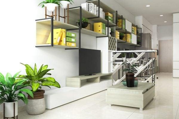 Thiết kế nội thất căn hộ Officetel River Gate - Mr Nhân