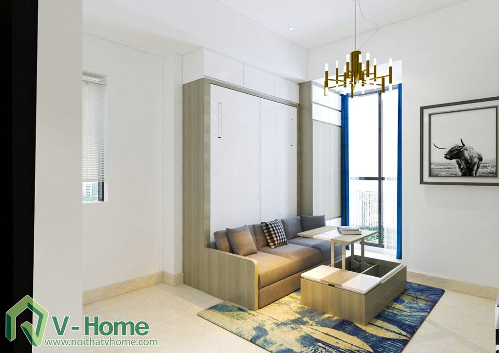 thiet-ke-chung-cu-office-tel-river-gate-5 Thiết kế nội thất căn hộ Officetel River Gate - Mr Tuyền