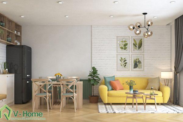 thiết kế nội thất chung cư Vista Verde