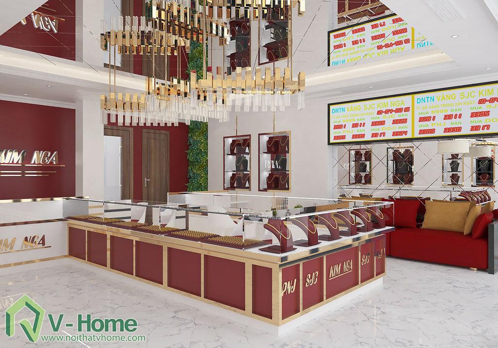 thiet-ke-cua-hang-vang-3 Thiết kế cửa hàng vàng Cầu Giấy