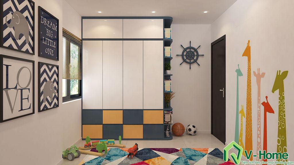 thiet-ke-noi-that-chung-cu-auris-17 Thiết kế nội thất chung cư Auris City - Anh Minh